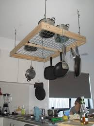 Pot Rack Diy Project Pot Rack Kitchens And Hanging Pot Racks