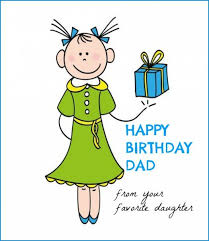 birthday cards for dad from daughter best 25 dad birthday cards