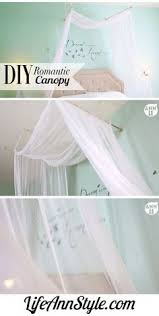 Diy Canopy Bed With Lights 23 Amazing Canopies With String Lights Ideas Bedroom Romantic
