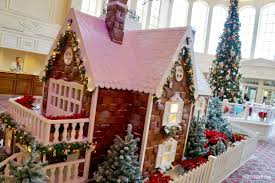 Home Alone Christmas Decorations by The Disneyland Hotel Christmas Gingerbread House U2014 In