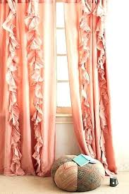 coral bedroom curtains gray and coral curtains clame co