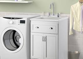 Laundry Room Sink Cabinets Cabinet Stunning Laundry Room Sink In Cabinet Illustrious