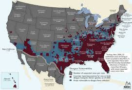 map of usa zika new map shows where zika mosquitoes live in us nbc news potential