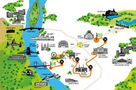 Map Of Budapest Budapeşte U0027de Gezilecek Yerler