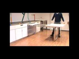 Atim Dinner Pull Out Drawer Table YouTube - Kitchen pull out table