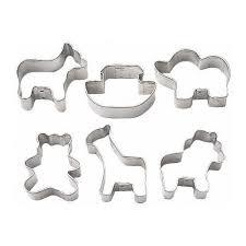 cookie cutters wilton noah s ark mini metal cookie cutters on sale now