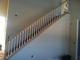 Wood Banisters Stair Fancy Half Turn Staircase Decorating Design Ideas Including