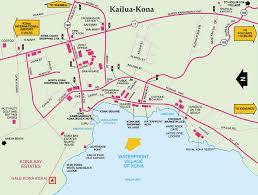 map kona usa location pointe
