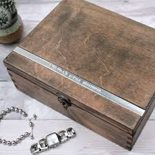 personalized wooden jewelry box jewellery boxes stands and trinket storage notonthehighstreet
