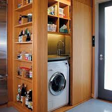 laundry in kitchen ideas 25 ideas to hide a laundry room amazing diy interior home design