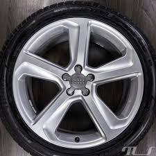 Audi Q5 Black Rims - original audi 20 inch alloy wheels q5 sq5 8r rims winter