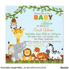 free safari baby shower invitations google search baby shower