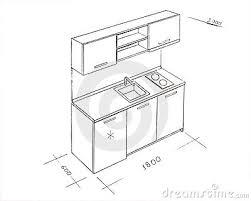 dessiner cuisine meuble cuisine dessin urbantrott com