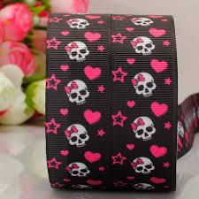 skull ribbon popular ribbon grosgrain skull buy cheap ribbon grosgrain skull