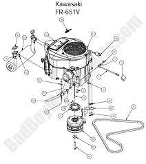 diagram for kawasaki engine fr651v on diagram images tractor