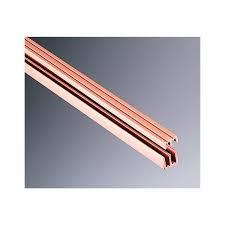 Glass Sliding Door Tracks For Cabinets Knape Vogt P2417 72 72 X 1 4 Sliding Track And