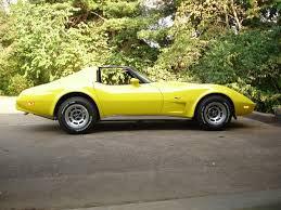 1976 corvette yellow the 25 best 1976 corvette ideas on chevrolet corvette