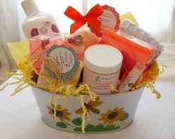 Christmas Bath Gift Set by Soap Gift Basket Etsy