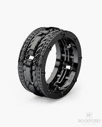 men wedding band unique mens black rhodium gold wedding bands engagement rings