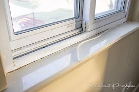 Wooden Interior Window Sill Diy Window Sill And Trim My Recent Project