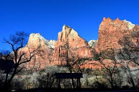 a four day weekend the narrows in the winter zion national park
