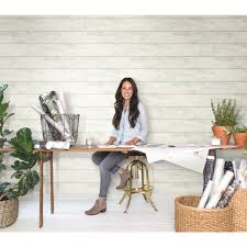 Joanna Gaines Wallpaper Shiplap White And Gray Removable Wallpaper Magnolia Home Wallpaper