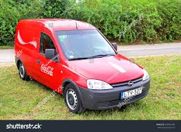 opel combo 2008 budapest hungary july 27 2014 cocacola stock photo 246244186