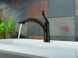 delta leland kitchen faucet reviews kitchen delta fuse faucet white touchless kitchen faucet