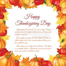 thanksgiving day greeting card vector thinkstock