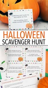 thanksgiving treasure hunt fun halloween scavenger hunt with printable clues