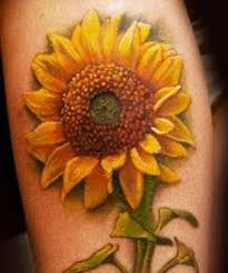 sunflower tattoo meaning and symbolism