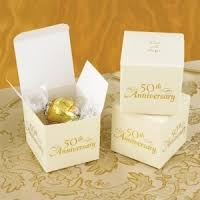 50th wedding anniversary favors 50th golden anniversary party favors wedding favors unlimited
