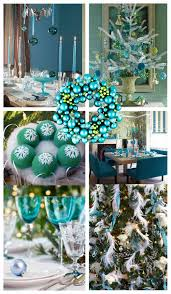 teal u0026 turquoise christmas decor amazingly different
