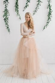 two wedding dresses wedding dress blush tulle dress two wedding dress