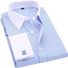 aliexpress com buy high quality striped men french cufflinks