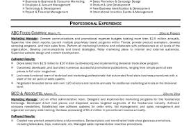 sample marketing director resume marketing resume template can