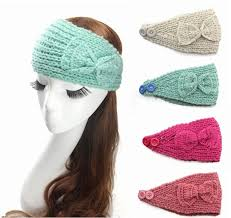 crochet bands top woman crochet headbands hair bows elastic
