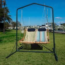 Hammock Swing With Stand Metal Swing Stand Nags Head Hammocks Sku Swsl Furniture