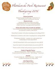 thanksgiving thanksgiving dinner menu template blank ideas for