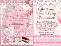princess tea party invitations u2013 frenchkitten net