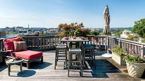 roof deck inspiration monumental views from kalorama washingtonian