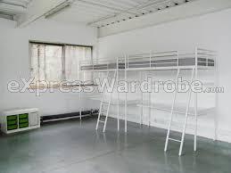 Desk Top Design Bedroom Cool Ikea Loft Bed With Desk Top Image Of In Design