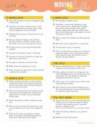pre moving checklist get organized with these easy steps