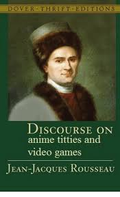 Jacques Meme - dover thrift editions discourse on anime titties and video games