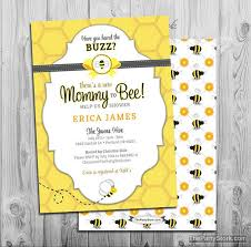 to bee baby shower bee baby shower invitation printable to bee