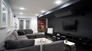 media room ideas decorating home theater contemporary with brown