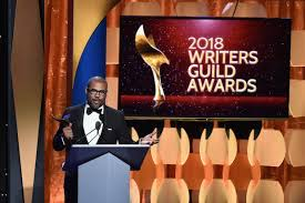 get out u0027 and u0027call me by your name u0027 win 2018 writers guild awards