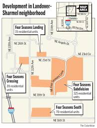 Vancouver Washington Map by Four Seasons Growing In East Vancouver Ginn Development