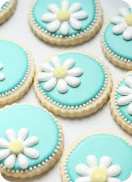 Decorating Icing For Cookies Daisy Cookies How To Decorate Sugar Cookies Birthday Party Ideas