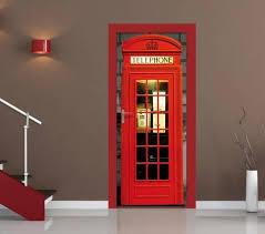 british phone box door wallpaper mural wallpaper mural at